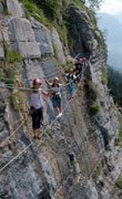 via ferrata guide chamonix